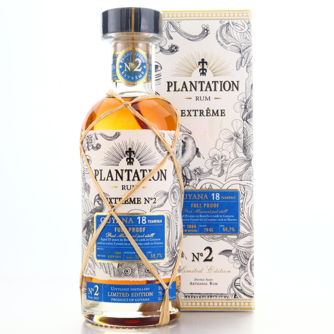 Port Mourant 1999 Plantation 18 Year Old Extreme No.2