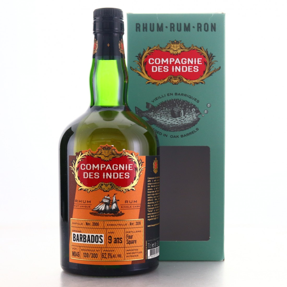 Foursquare 2006 Compagnie des Indes 9 Year Old