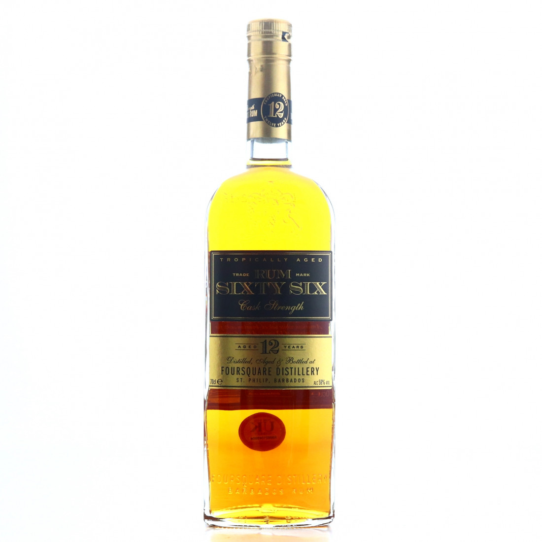 Foursquare Rum Sixty Six 12 Year Old Cask Strength