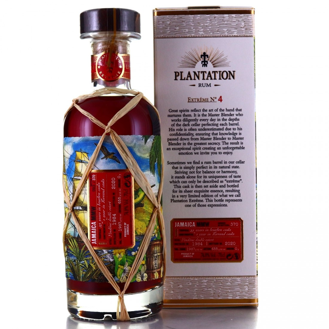 Clarendon MMW 1984 Plantation 36 Year Old Extreme No.4 / France