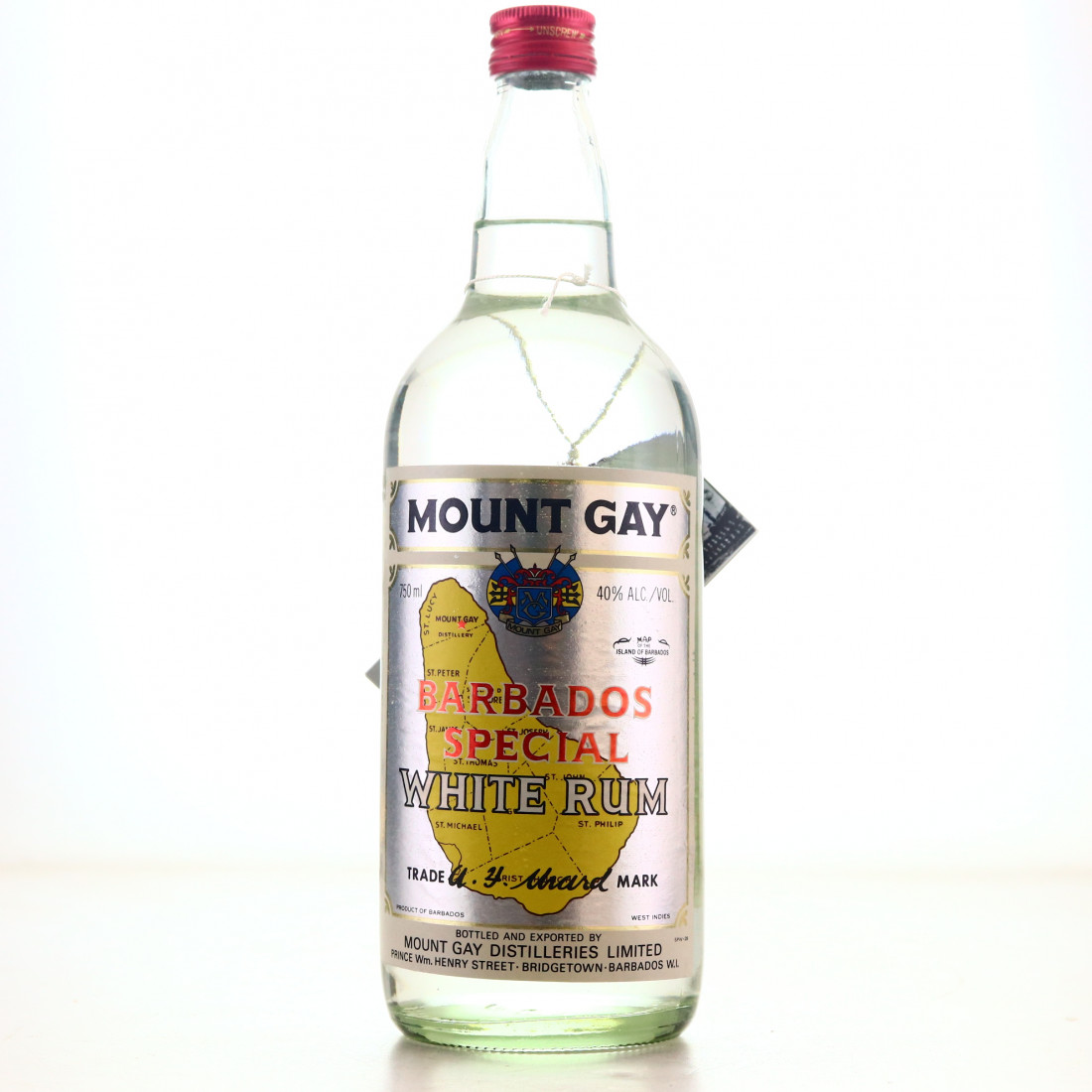 Mount Gay White Rum 1980s