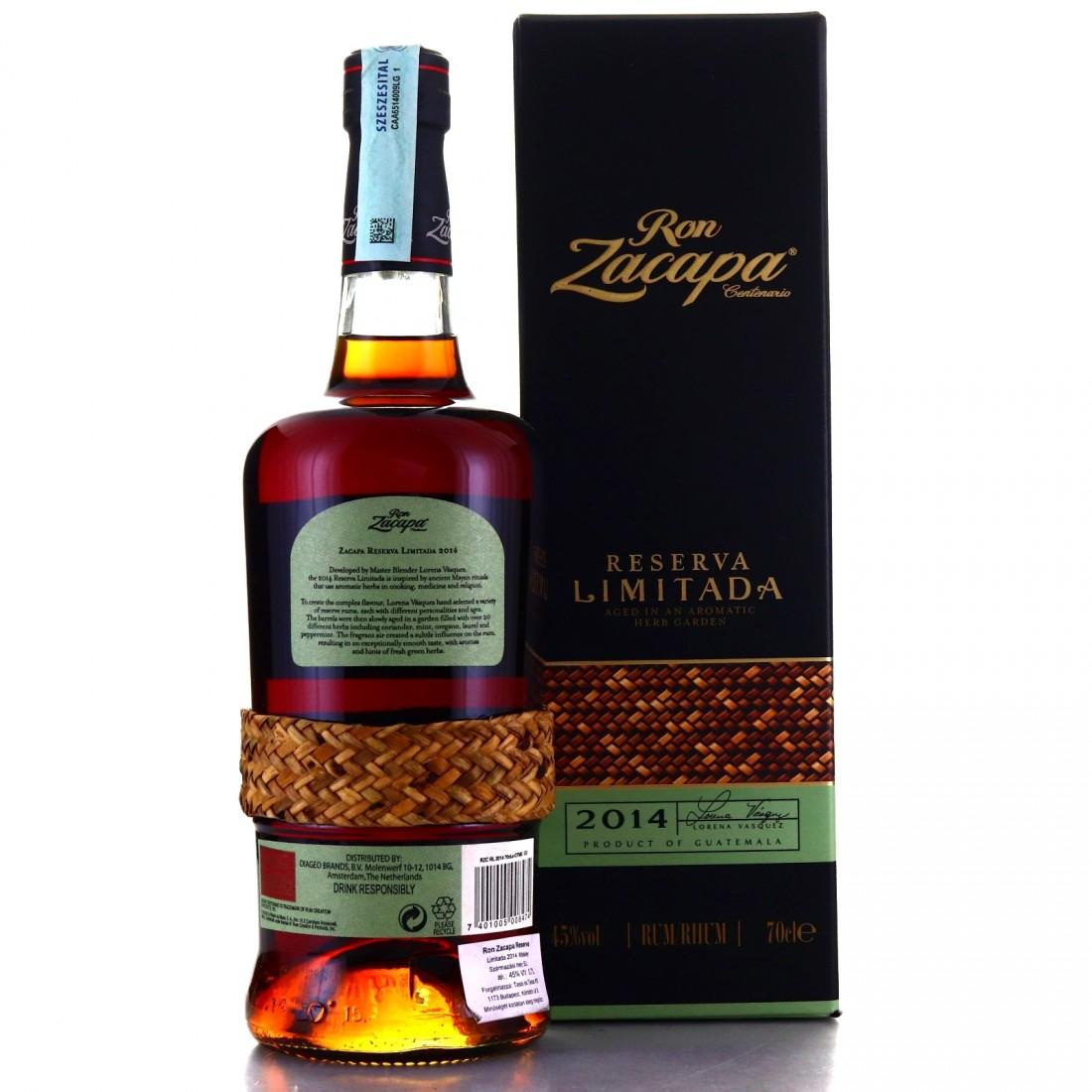 Ron Zacapa Reserva Limitada 2014