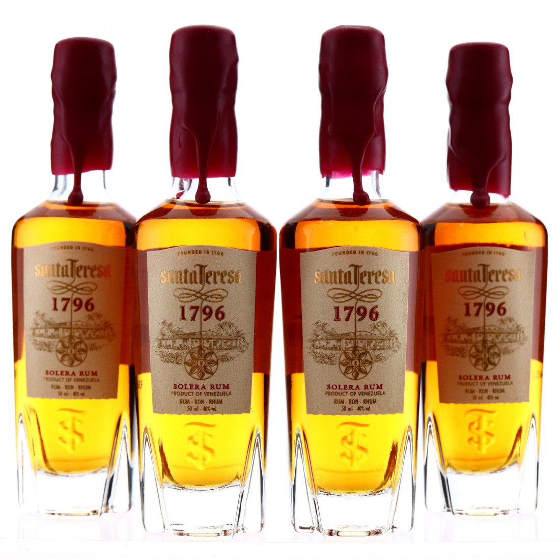 Santa Teresa Solera Rum Miniature x 4