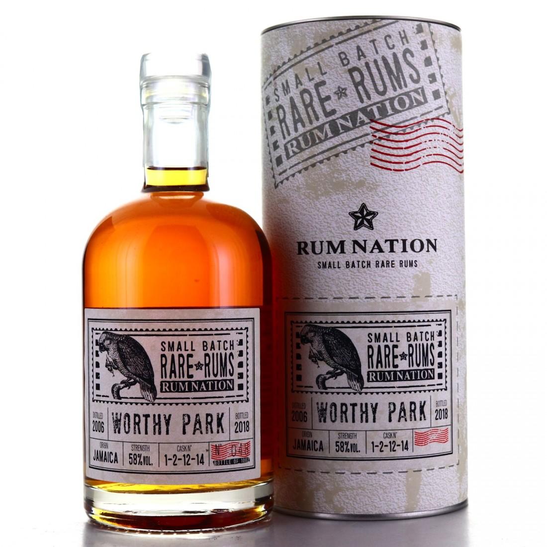 Worthy Park 2006 Rum Nation Small Batch