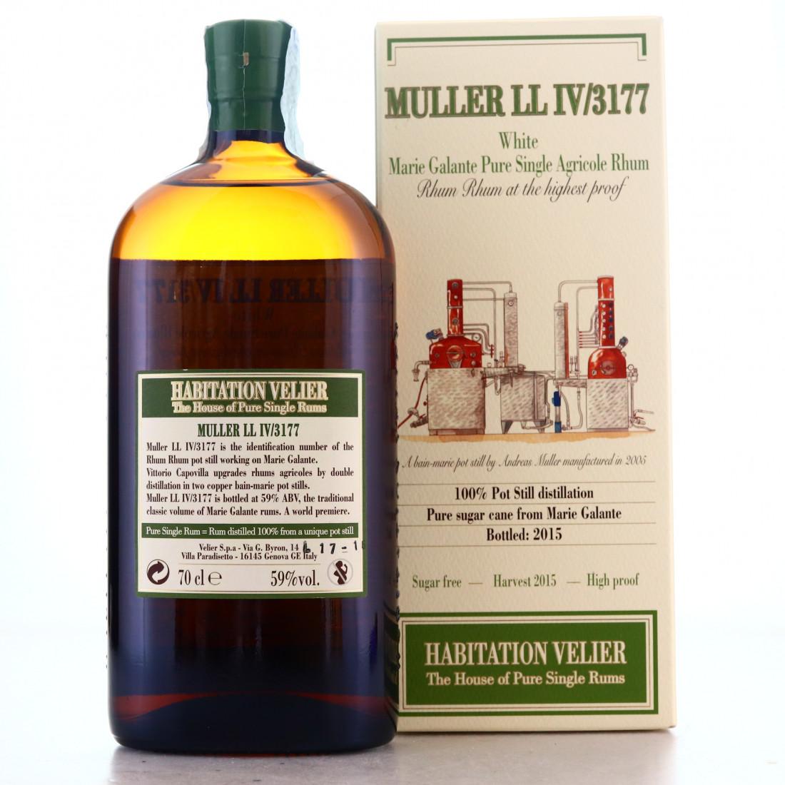 Muller LL IV/3177 Habitation Velier White Rum 2015