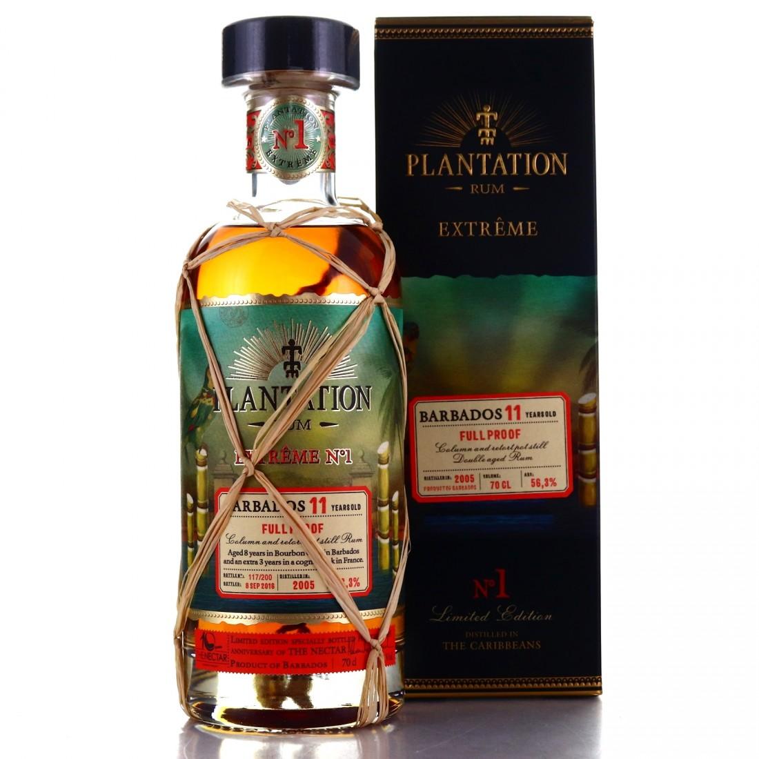 Barbados Rum 2005 Plantation 11 Year Old Extreme No.1 ...