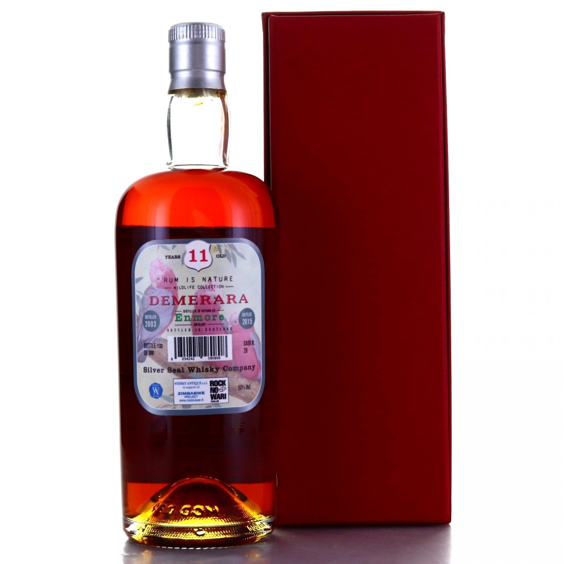 Enmore 2003 Silver Seal 11 Year Old / Rum is Nature