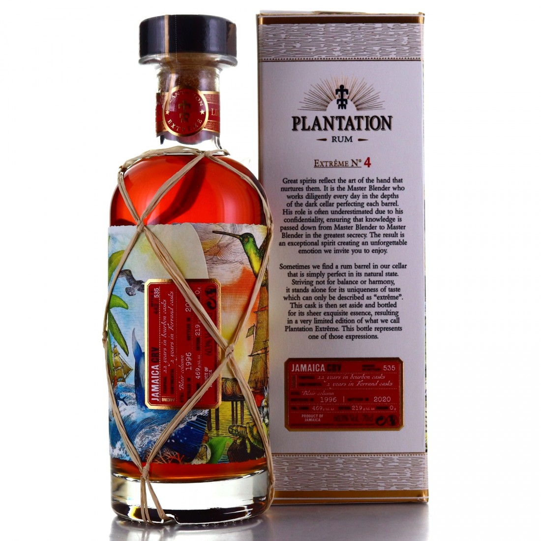 Long Pond CRV 1996 Plantation 24 Year Old Extreme No.4 / Germany