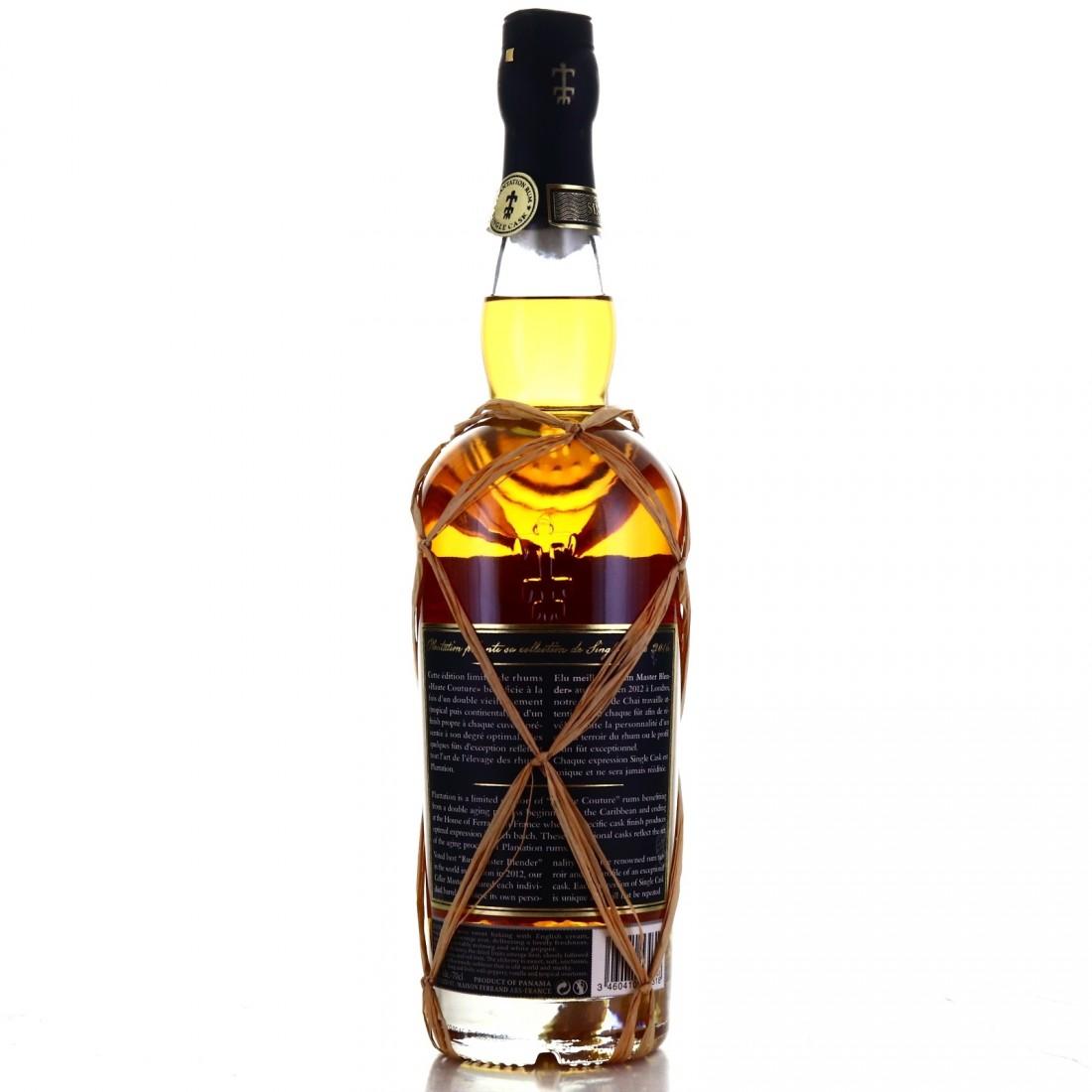 Panama Rum 2008 Plantation 8 Year Old Single Red Pineau Cask Finish #12