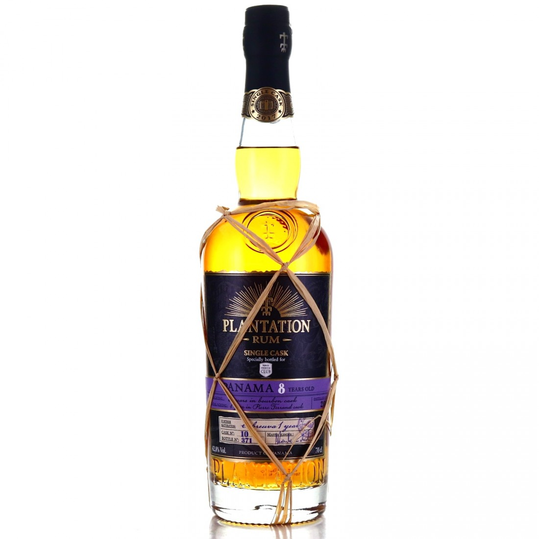 Panama Rum 2009 Plantation 8 Year Old Single Cabreuva Cask Finish #10 / Rum&Co