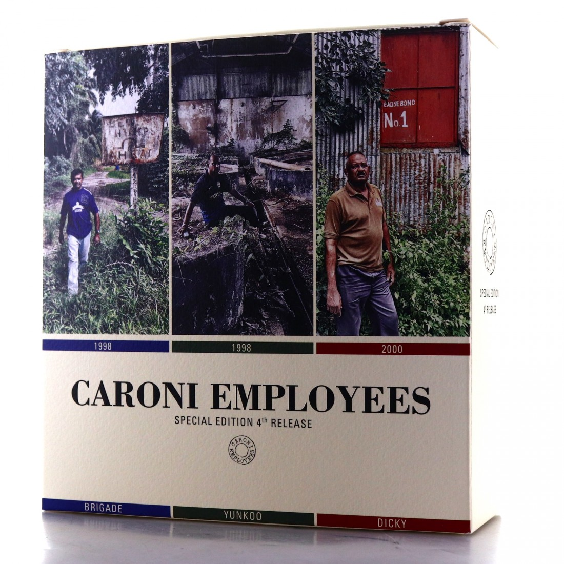 Caroni Velier Employees 4th Release Gift Set 3 x 20cl