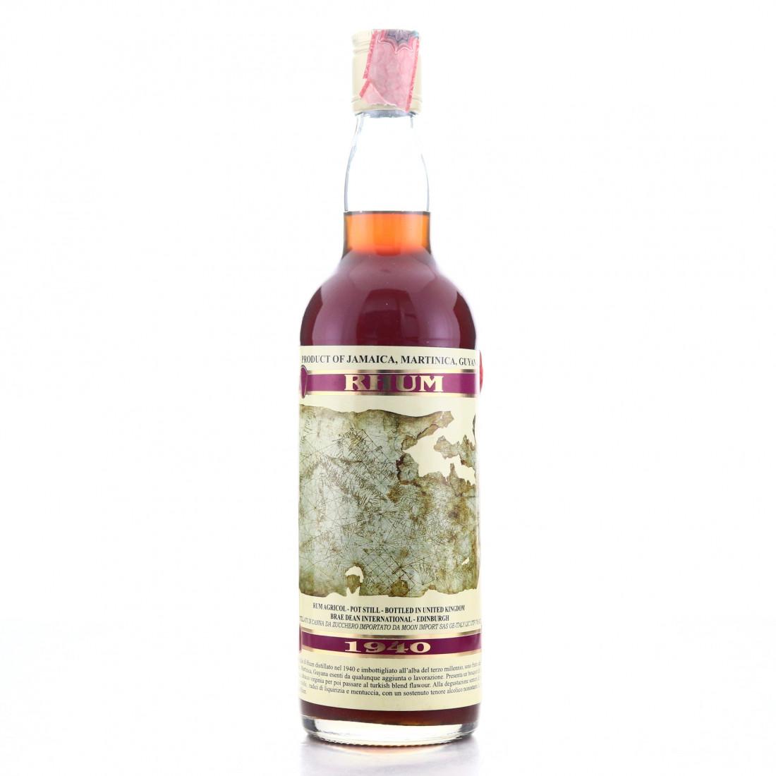 Caribbean Rum 1940 Moon Import