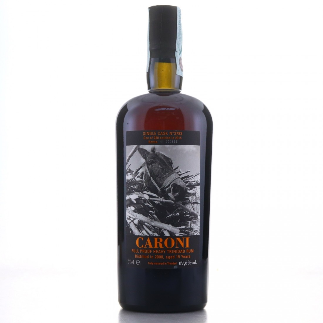 Caroni 2000 Velier 15 Year Old Single Cask Heavy #3783