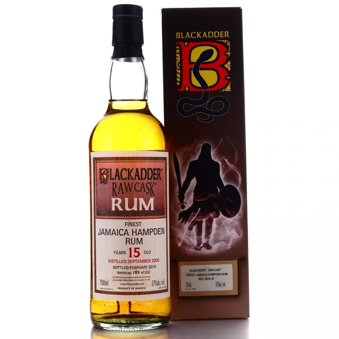 Hampden 2000 Blackadder 15 Year Old Raw Cask