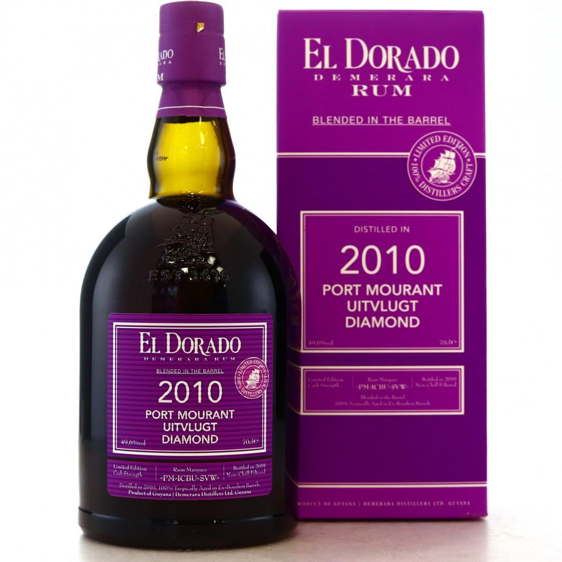 Port Mourant, Uitvlugt and Diamond <PM>ICBU<SVW> 2010 El Dorado Blended in the Barrel