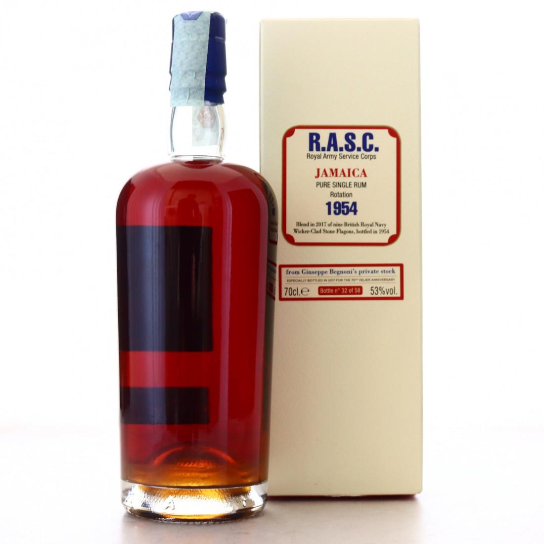 Velier R.A.S.C. Jamaica Rum 1954 1st Release / 70th Anniversary