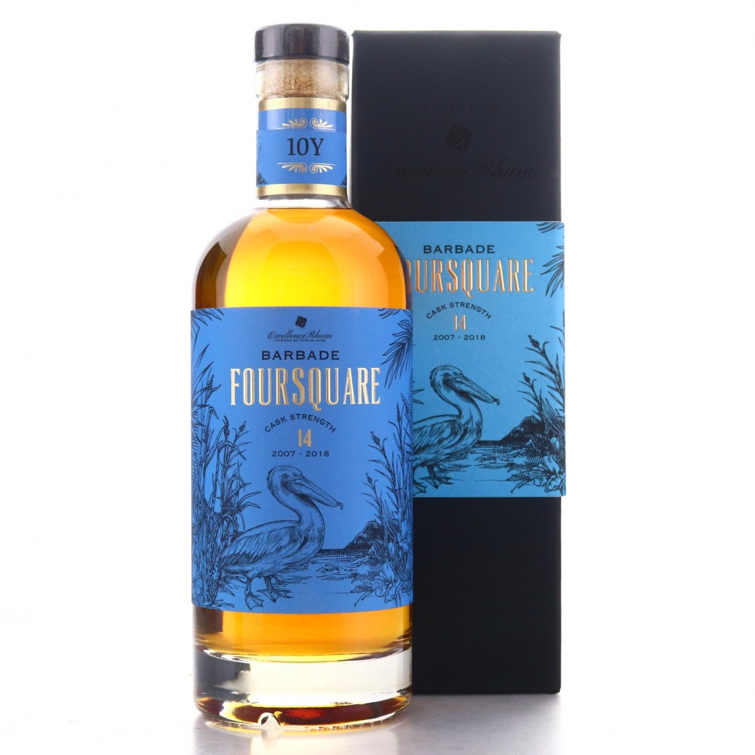 Foursquare 2007 Excellence Rhum 10 Year Old