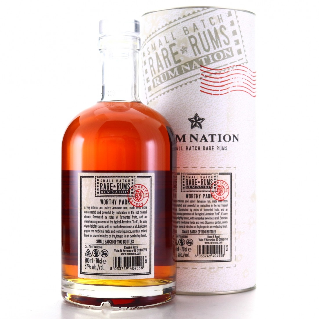 Worthy Park 2006 Rum Nation Small Batch