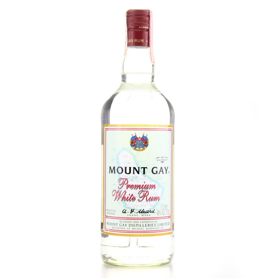 Mount Gay White Rum 1 Litre