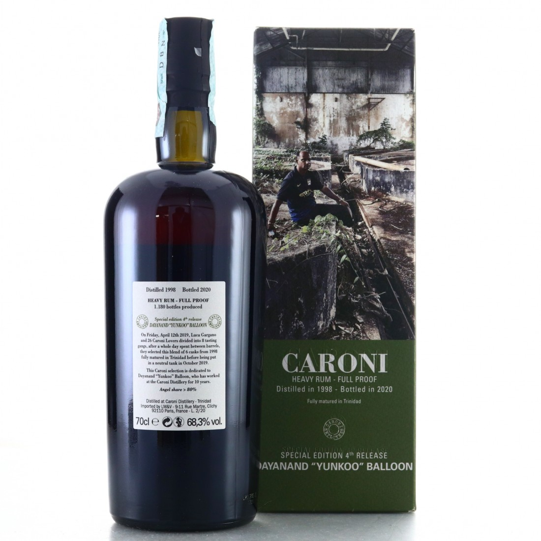 Caroni 1998 Velier Full Proof Heavy / Dayanand 'Yunkoo' Balloon