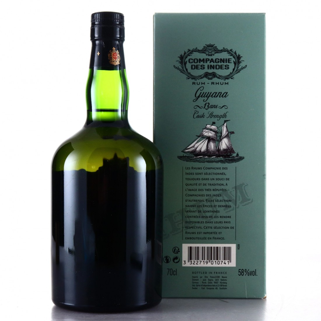 Port Mourant 2002 Compagnie des Indes 13 Year Old
