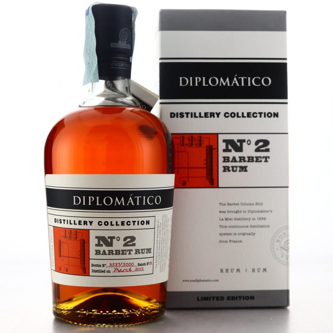 Diplomatico 2013 Distillery Collection No.2 / Barbet Rum