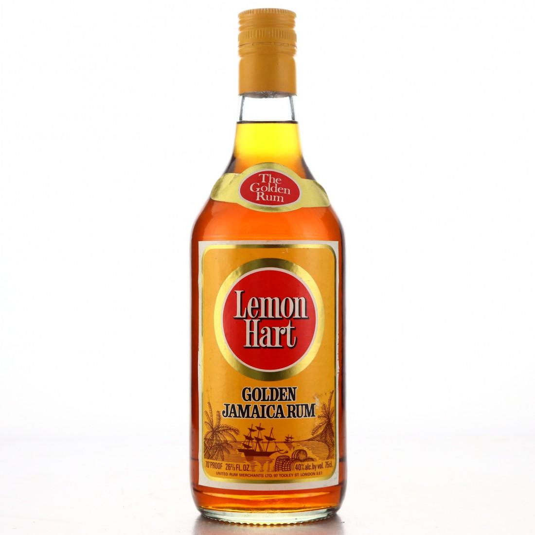 Lemon Hart Golden Jamaica Rum 1970s