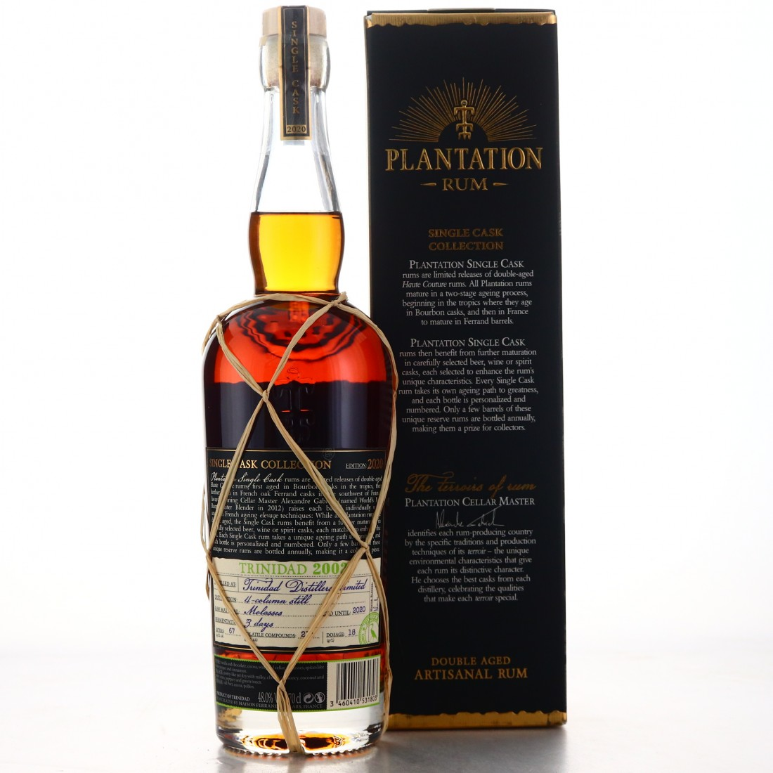 Trinidad Distillers 2002 Plantation Single Twany Port Cask Finish / Belux