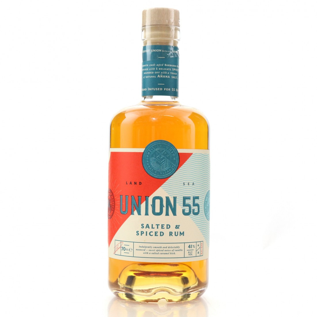 Union 55 5 Year Old Salted and Spiced Rum
