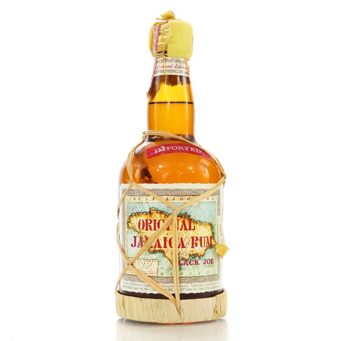 Black Joe Original Jamaica Rum 1980s
