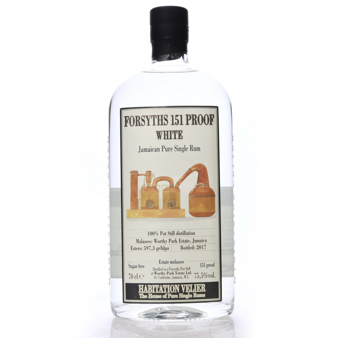 Forsyths 151 Proof White Habitation Velier