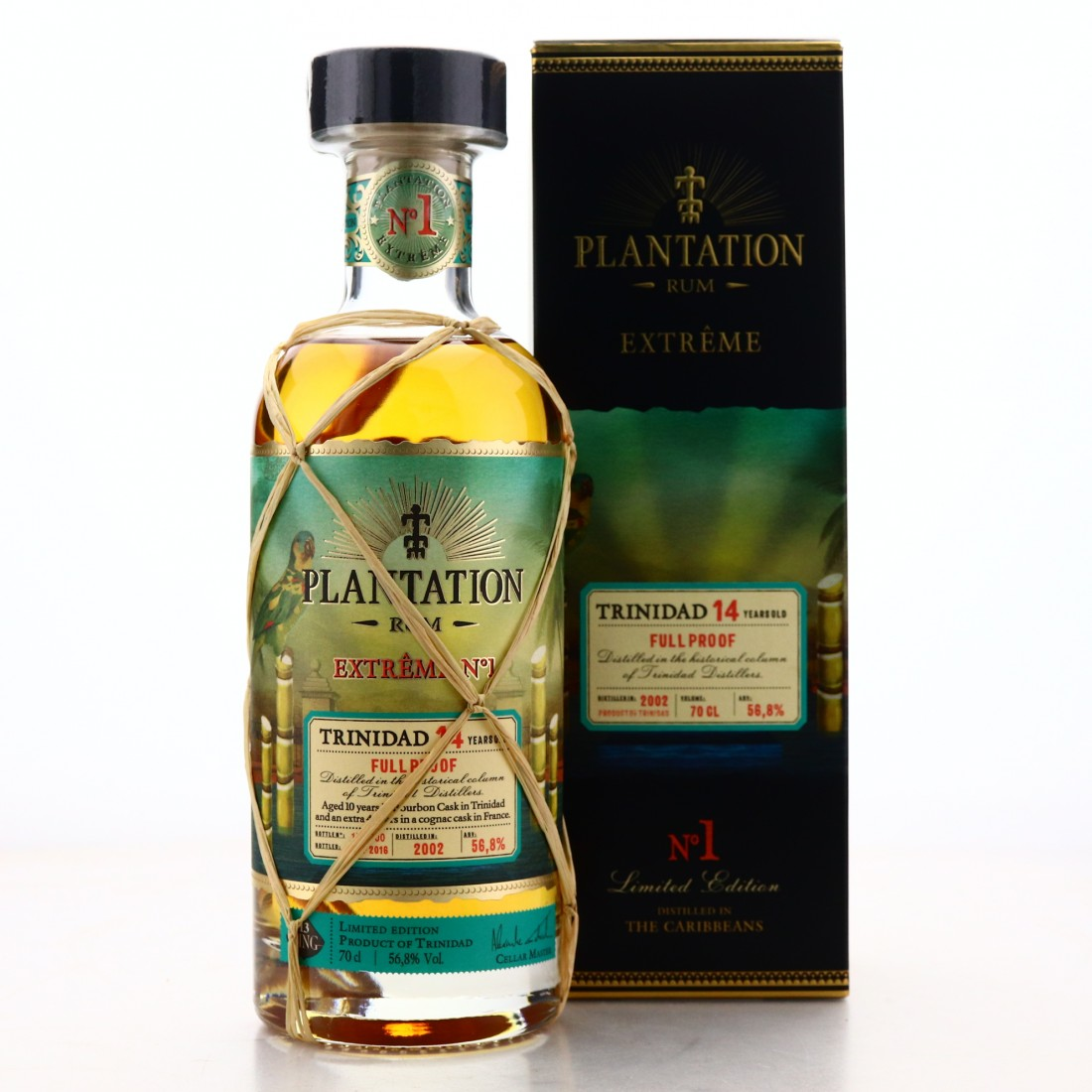 Trinidad Distillers 2002 Plantation 14 Year Old Extreme No.1 / Ping No.13
