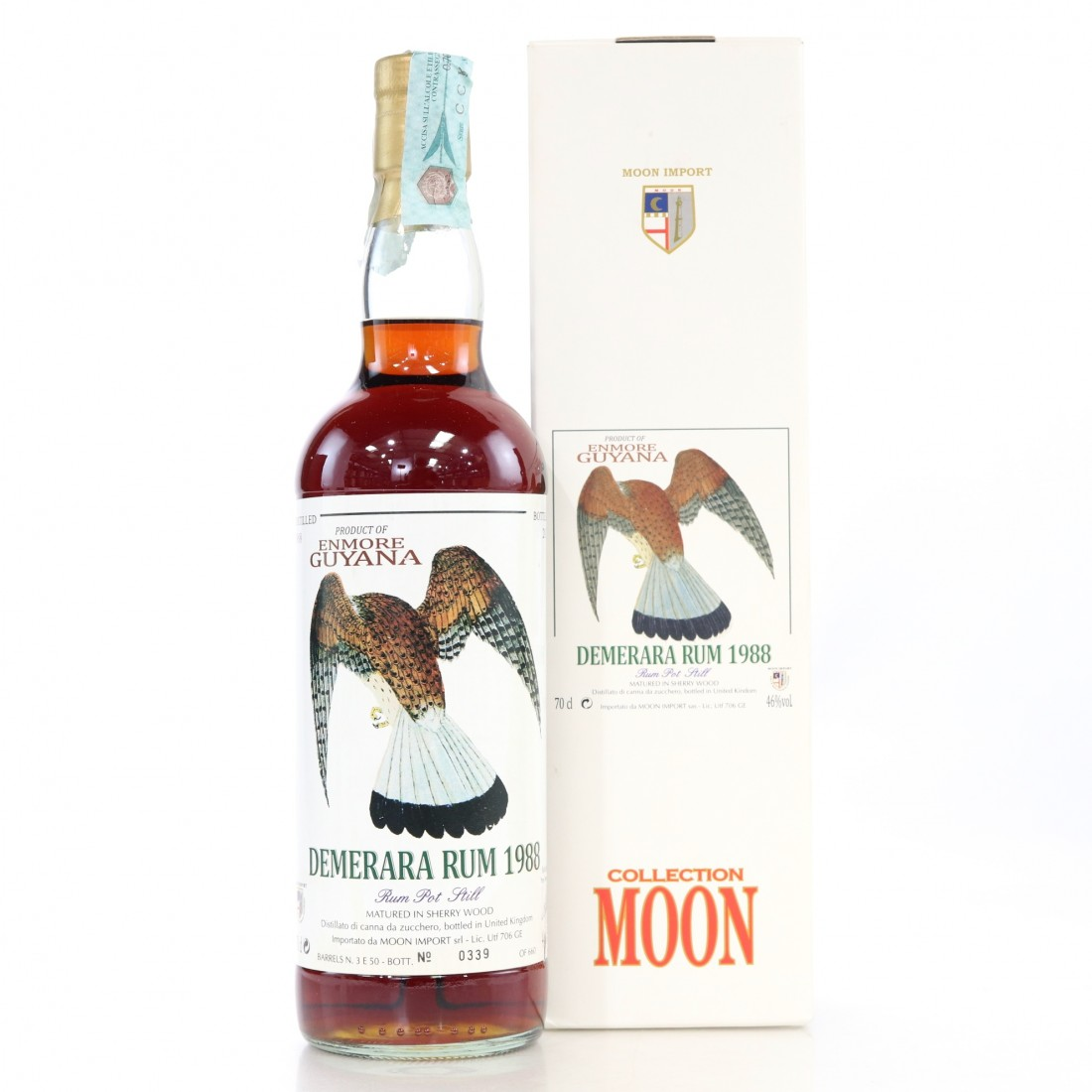 Enmore 1988 Moon Import Sherry Wood