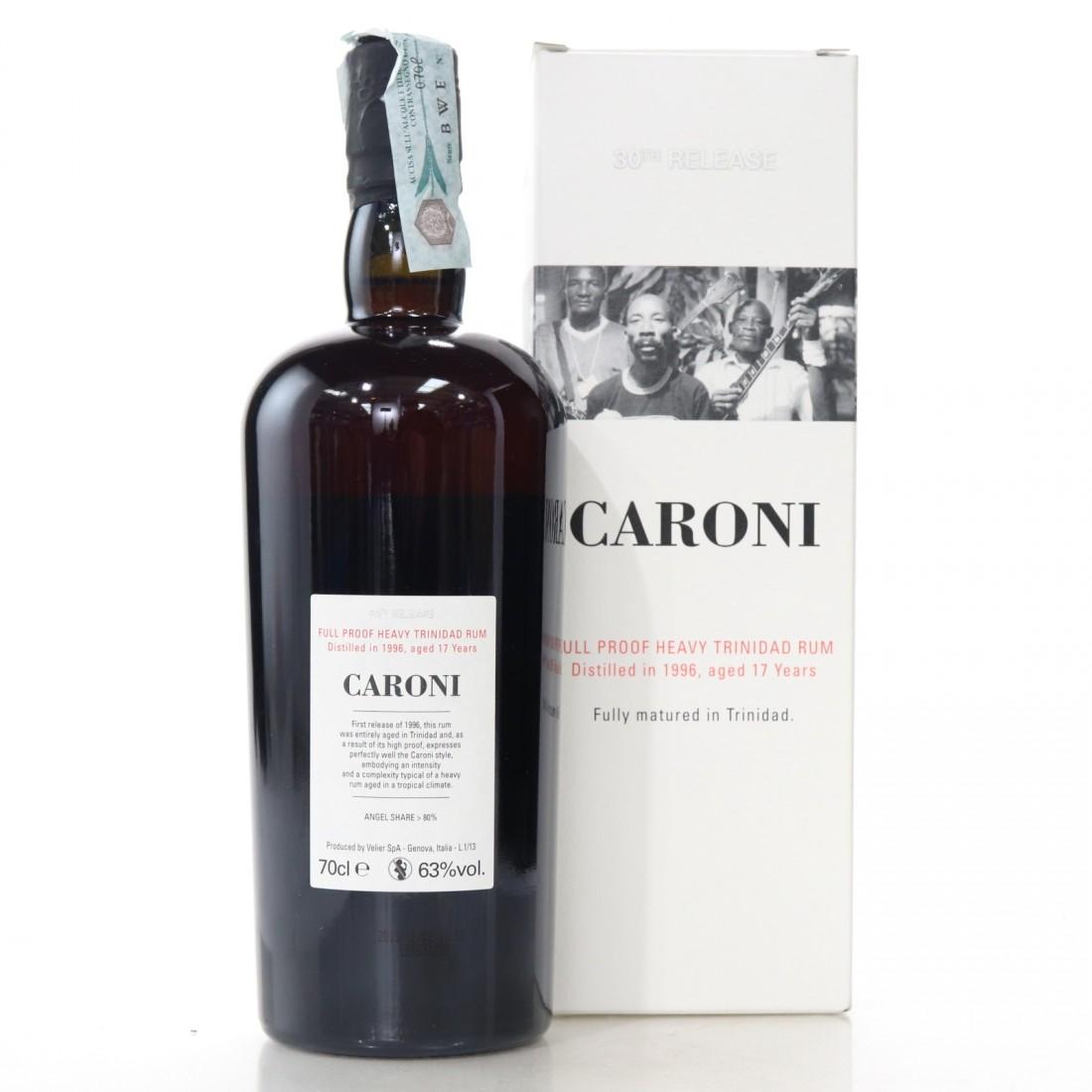 Caroni 1996 Velier 17 Year Old Full Proof Heavy