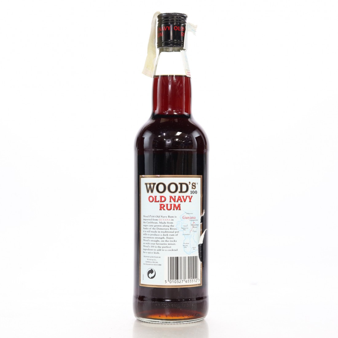 Wood's 100 Proof Old Navy Rum ​