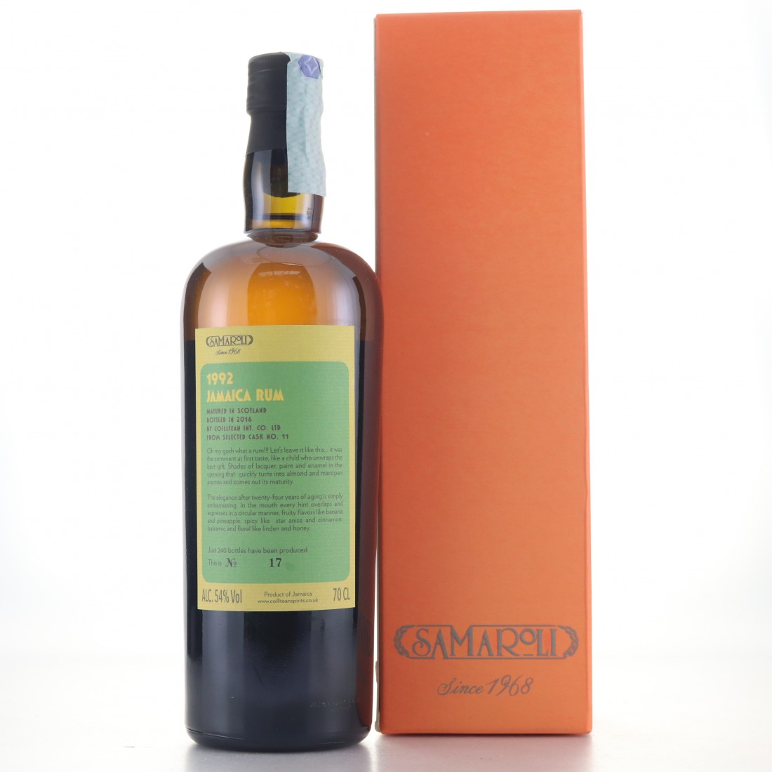 Hampden 1992 Samaroli Single Cask #11