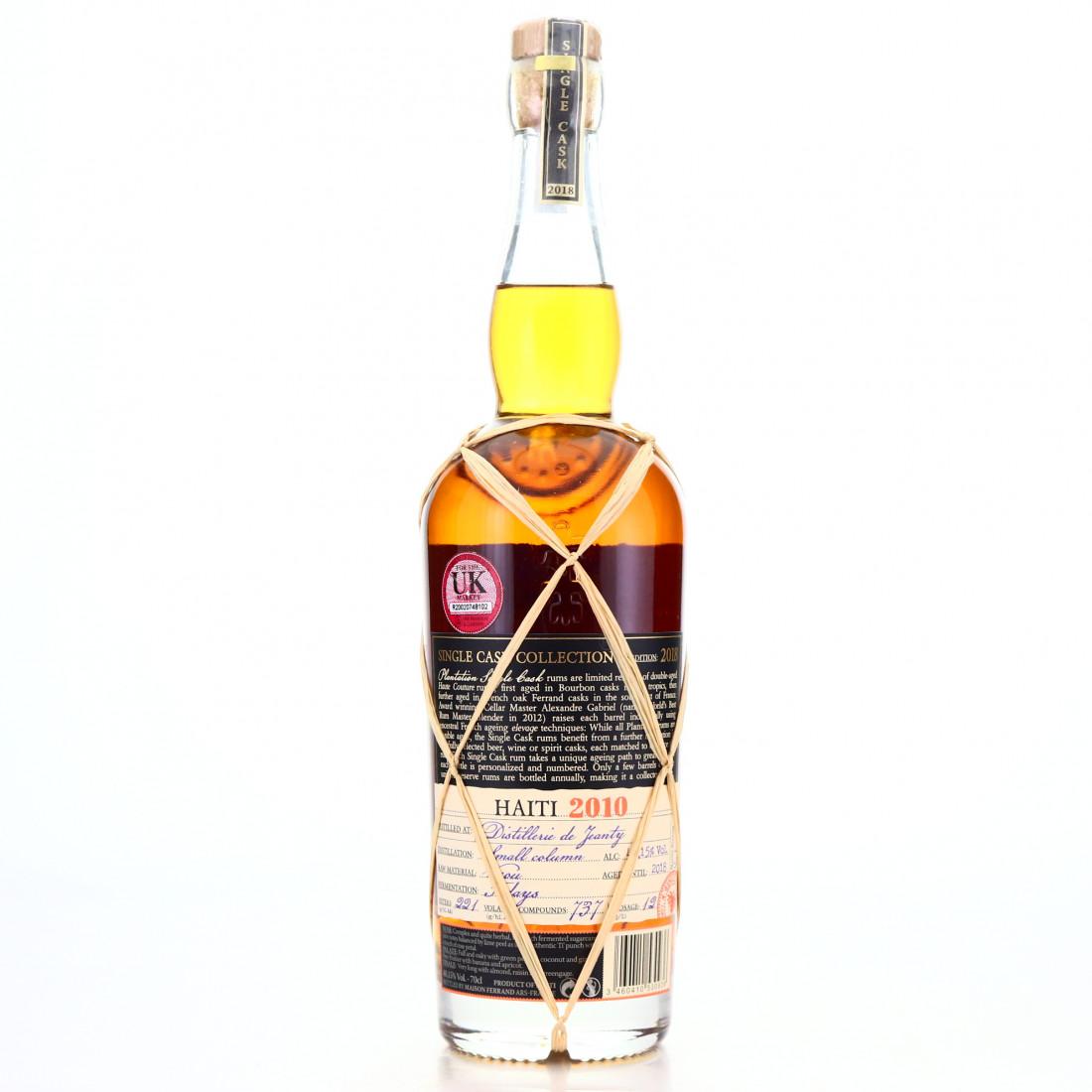 Distillerie de Jeanty 2010 Plantation Single Cask #4 / Pennyroyal