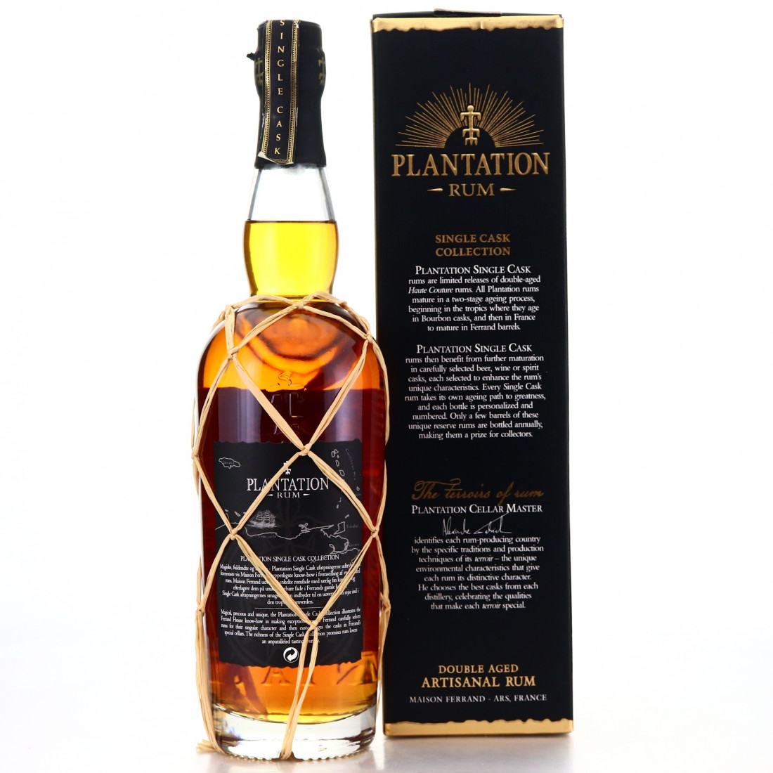 Cuba Rum 1998 Plantation Single Cask #2 / Denmark
