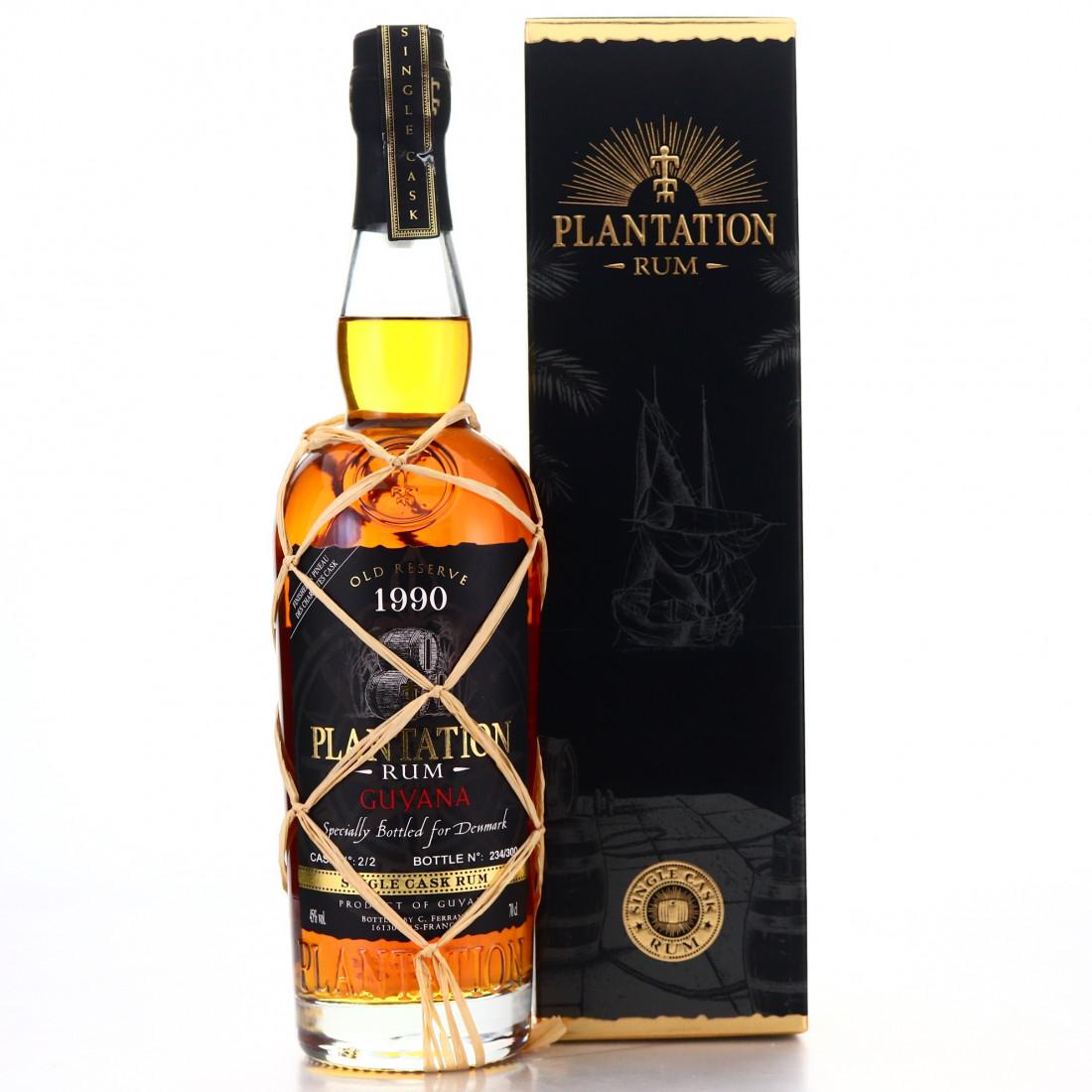 Guyana Rum 1990 Plantation Single Cask #2 / Denmark