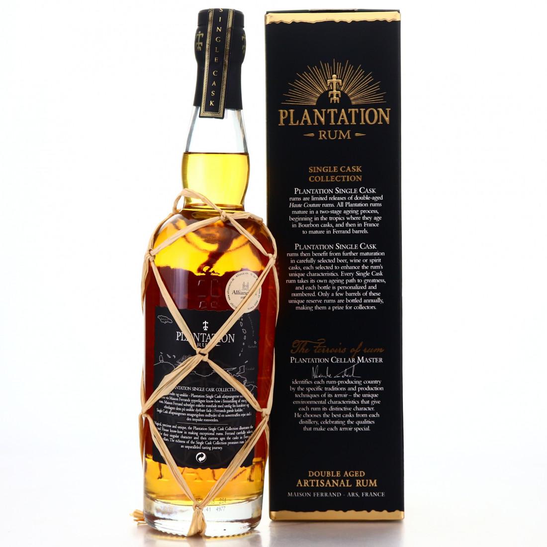 Panama Rum 8 Year Old Plantation Single Cask #7 / Aftappet for Alliance Vin Viborg