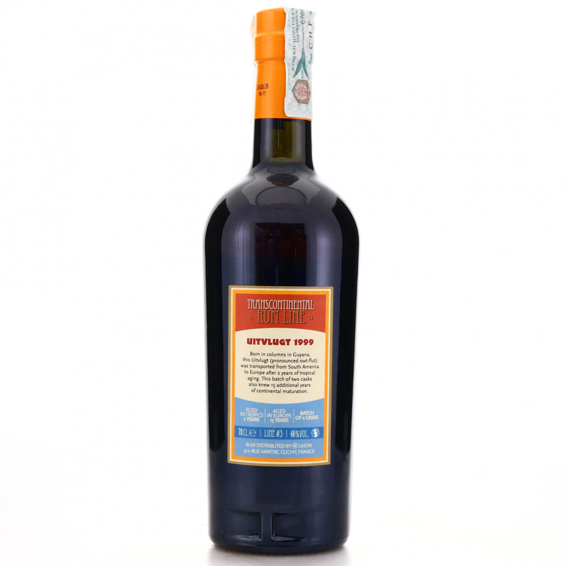 Uitvlugt 1999 Transcontinental Rum Line