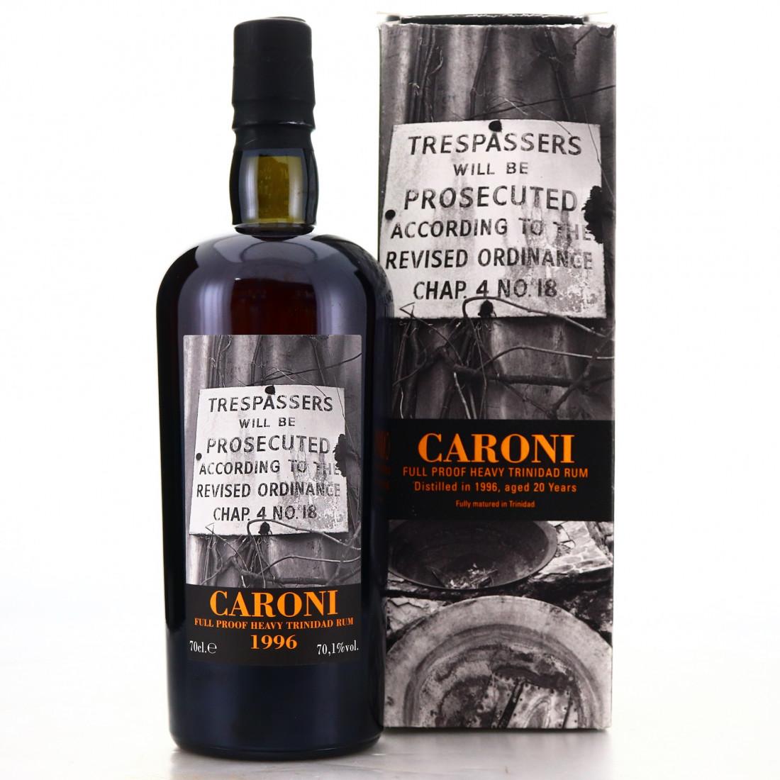 Caroni 1996 Velier 20 Year Old Full Proof Heavy