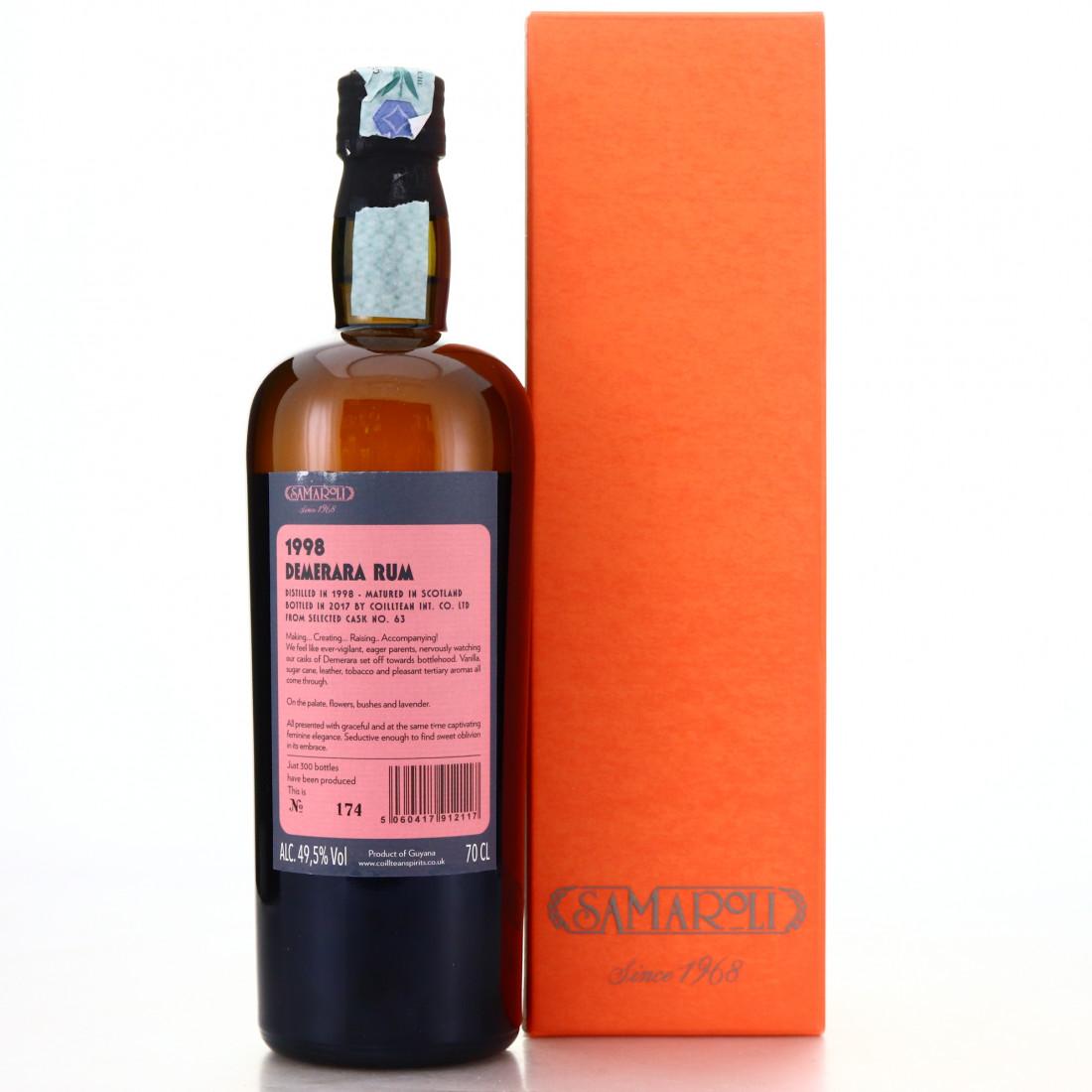 Demerara Rum 1998 Samaroli Single Cask #63
