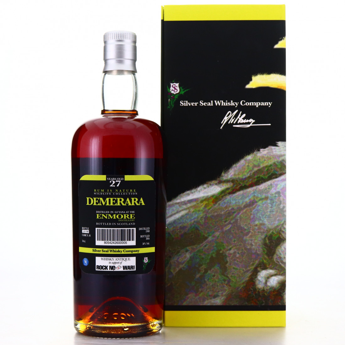 Enmore 1988 Silver Seal 27 Year Old / Rum is Nature