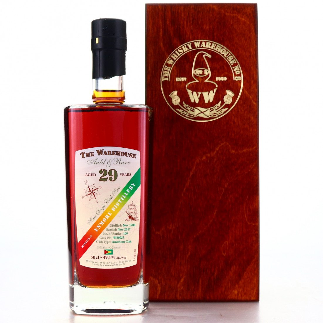 Enmore 1988 The Warehouse 29 Year Old 50cl