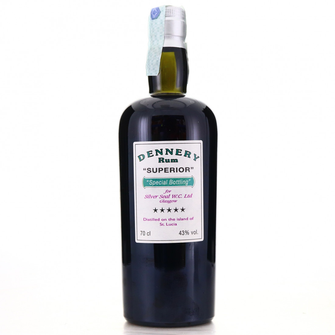 Silver Seal Dennery Superior St Lucian Rum