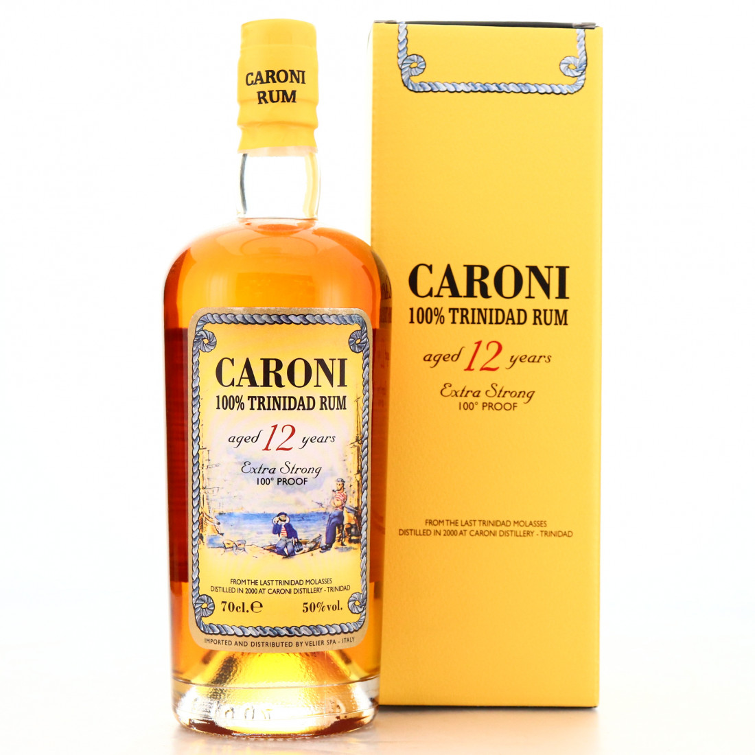 Caroni 2000 Velier 12 Year Old 100 Proof