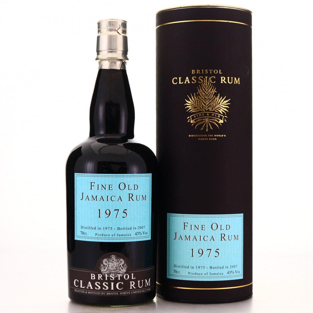 Fine Old Jamaica Rum 1975 Bristol Classic
