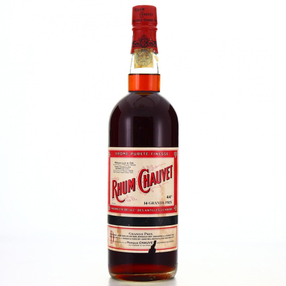 Rhum Chauvet 98cl circa 1940s