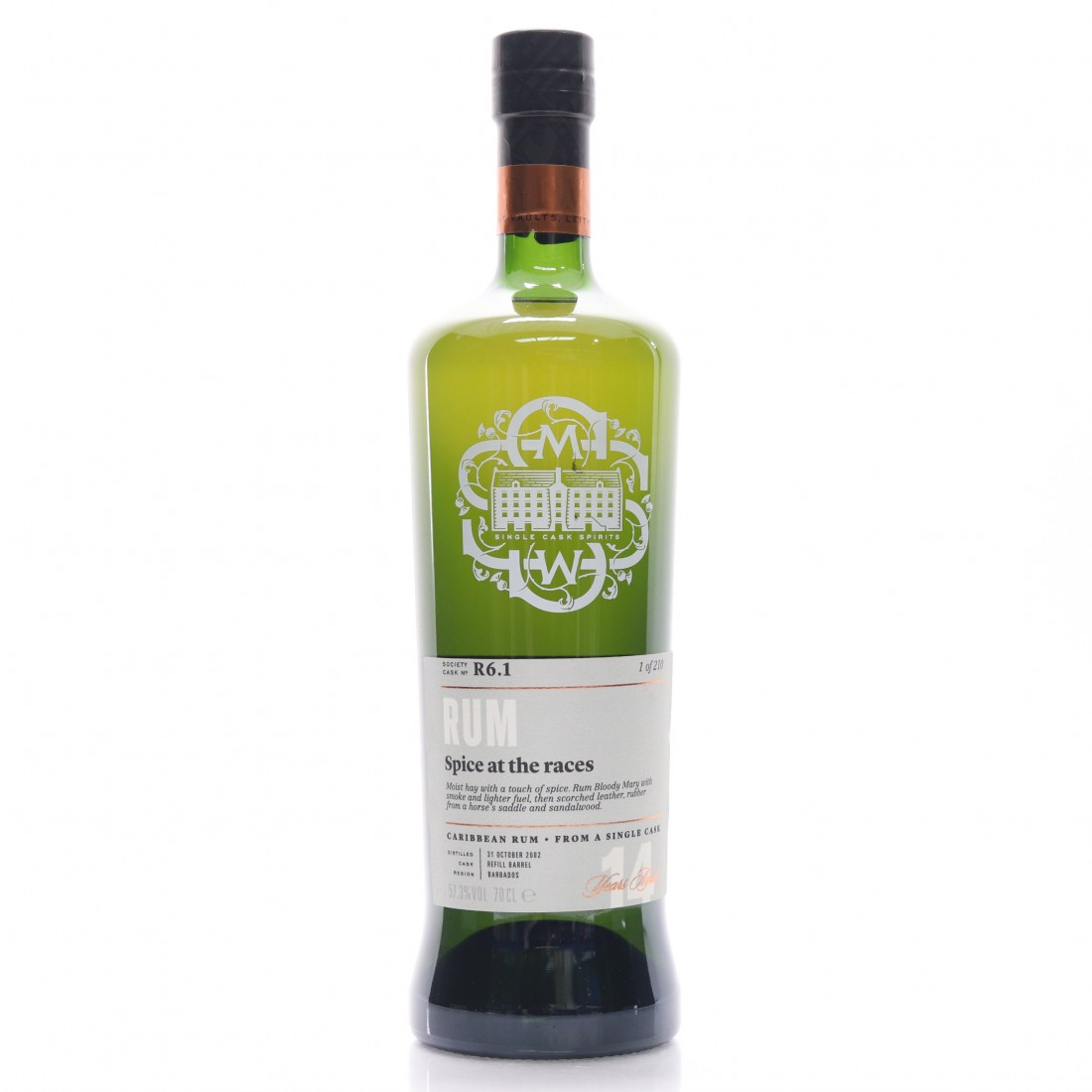 Foursquare 2002 SMWS 14 Year Old R6.1